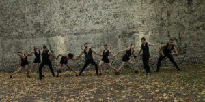 Progetto sacro - performance site specific giardini di san paolo Parma